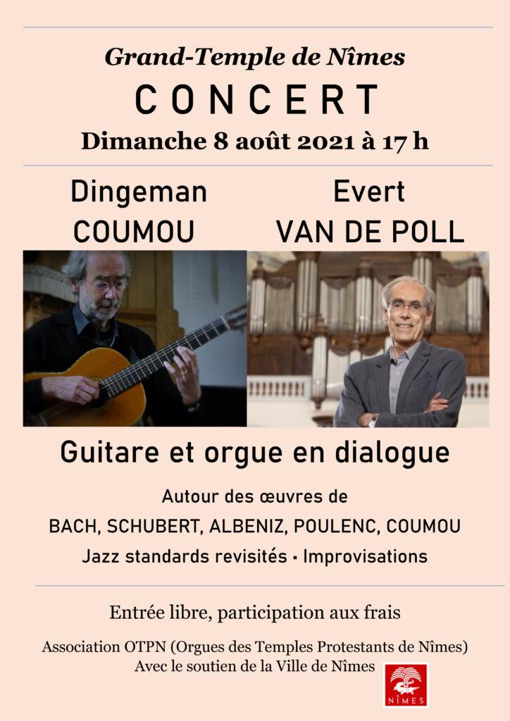 guitare et orgue en dialogue